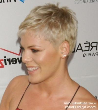 Pink Short Hairstyles - kitharingtonweb