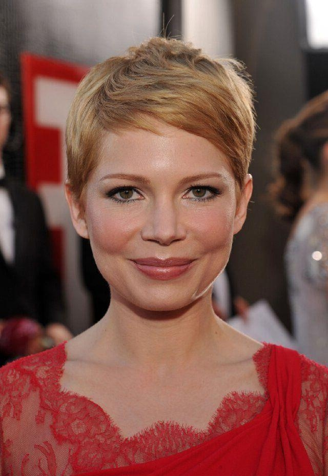 20 Best Of Super Short Pixie Haircuts For Round Faces