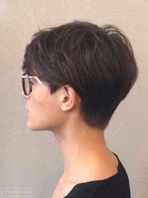 20 Ideas Of Brunette Pixie Haircuts