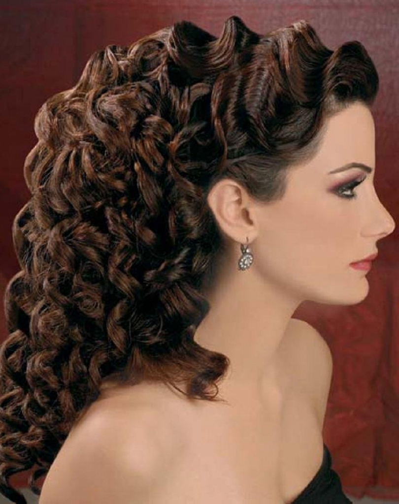 Photo Gallery Of Finger Waves Long Hair Updo Hairstyles