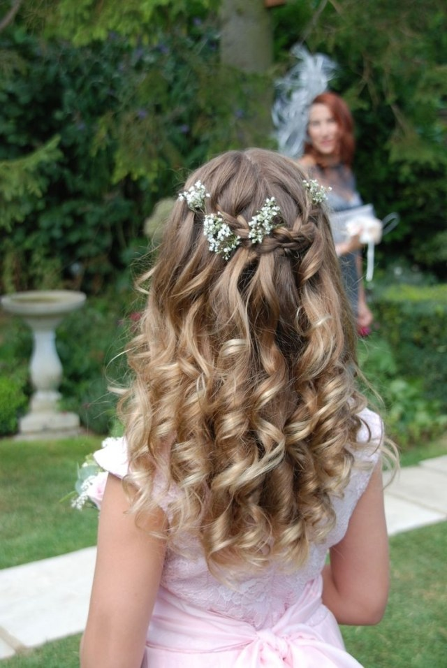 photo gallery of wedding hairstyles for young bridesmaids