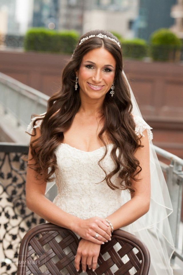 wedding updos with veil and tiara - george's blog