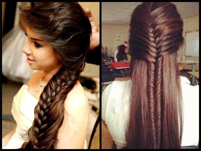 indian bridal hairstyle for long hairs - hairstyles for long