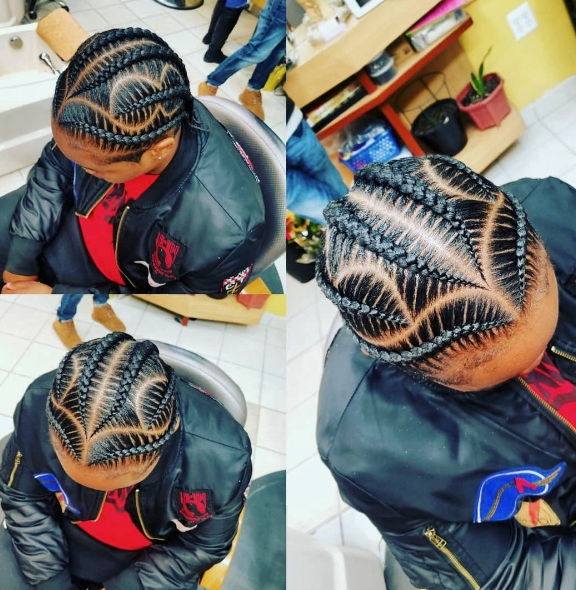 2019 Latest Feed In Braids Hairstyles