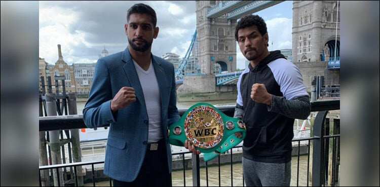 Boxer Amir Khan hopes to avenge Pakistan's World cup defeat