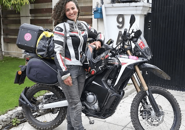 Turkish biker girl believes Pakistani hospitality is unmatched