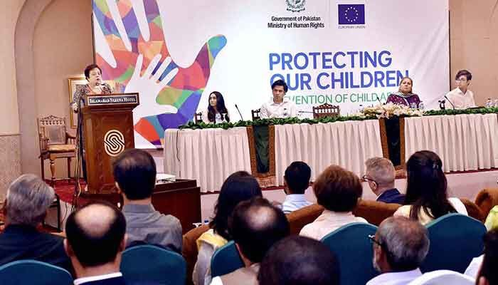 Pakistan stands number one in child pornography: Shireen Mazari