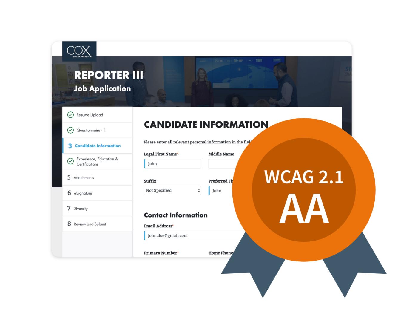 WCAG2.21AA Logo