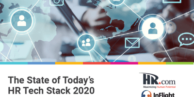 Hr.com Research Paper Image; The State of Today's HR Tech Stack