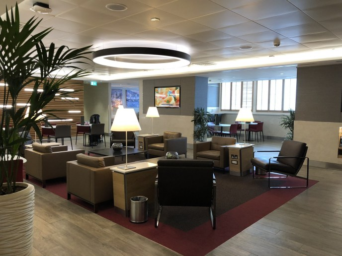 American Airlines Arrivals Lounge, Heathrow T3