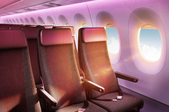 Virgin Atlantic economy seat