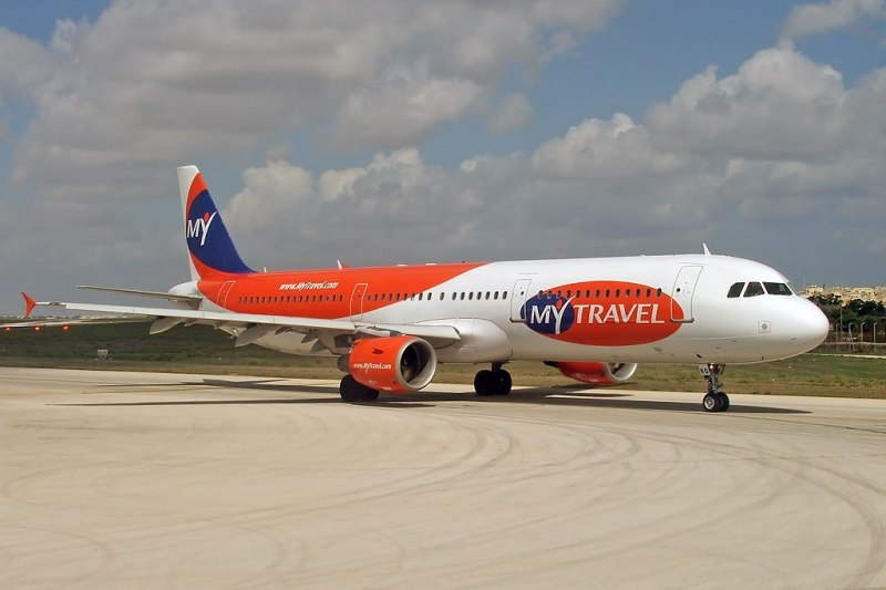 MyTravel Airways Airbus A321