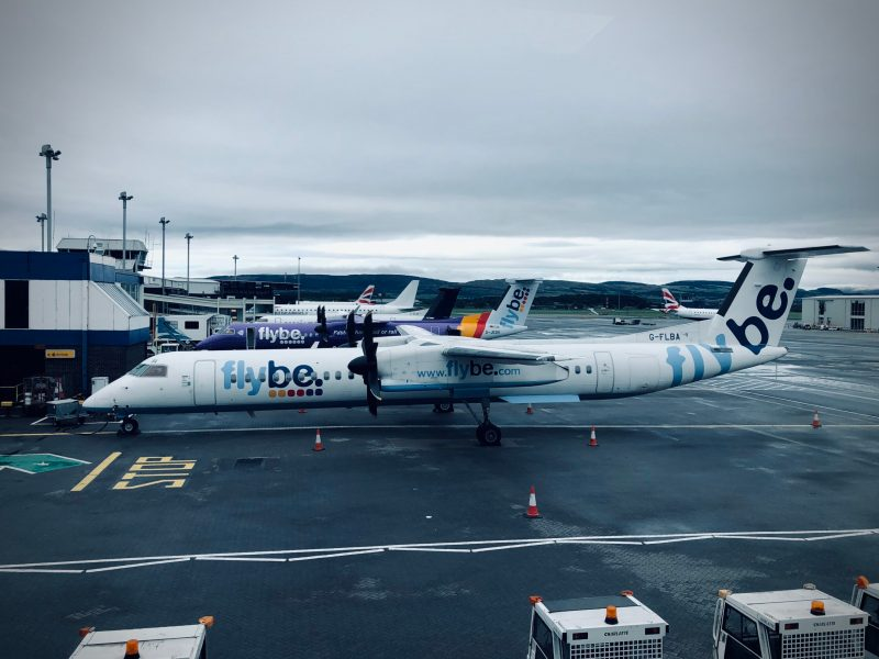 FlyBe at Glasgow