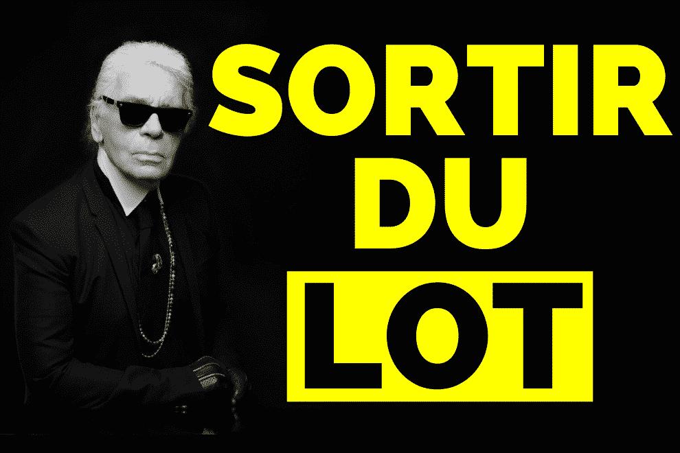 Comment se démarquer et sortir du lot – 3 secrets de Karl Lagerfeld