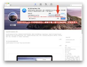 Apple ID密碼後面加上手機上顯示的驗證碼
