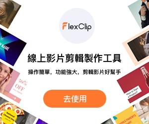 flexclip側邊欄廣告