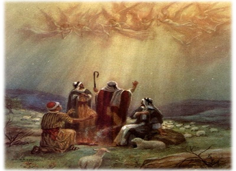 Image result for shepherds went rejoicing