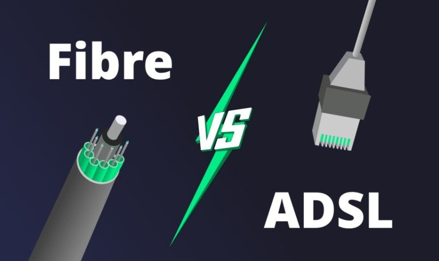 What are the differences between Optical fiber and ADSL?