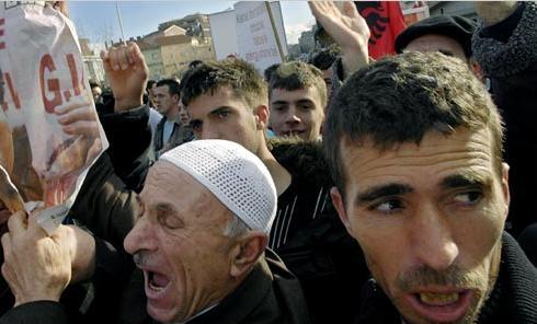 Албанцы с Косово