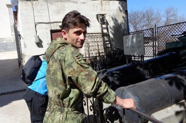 Сербский доброволец армии ДНР Деян Берич  о своей книге