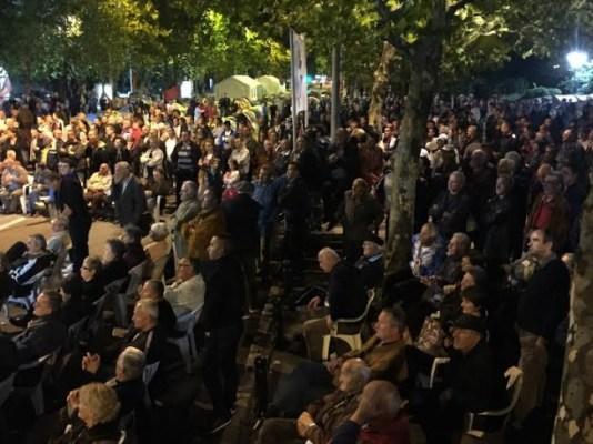 Протесты в Черногории-2