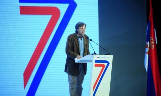 Выступление Эмира Кустурицы на праздновании семилетия СНС