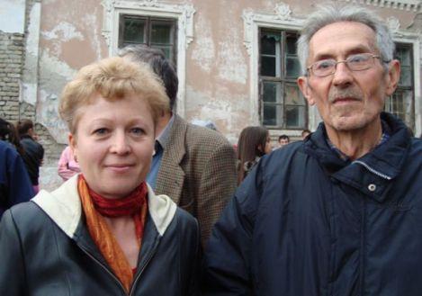 Л. В. Шестопалова и Душан Васич.