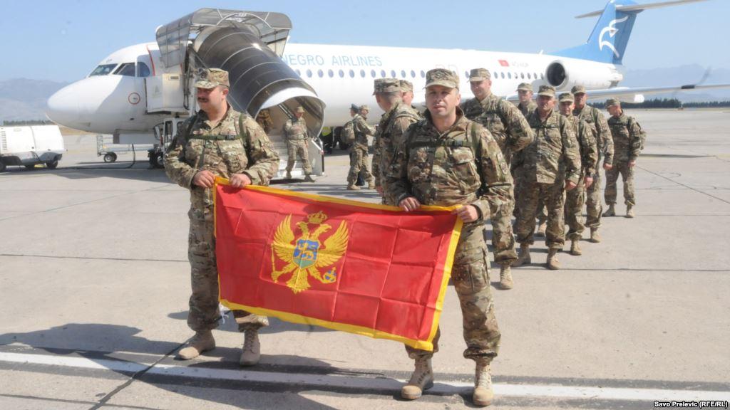 Солдаты Черногории