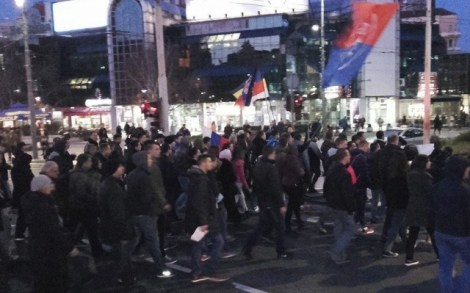 Протест в Белграде-2