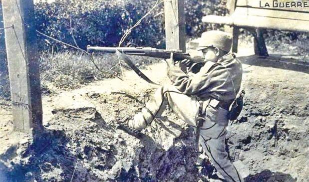 Драголюб Еличич-самый юный сербский герой ПМВ