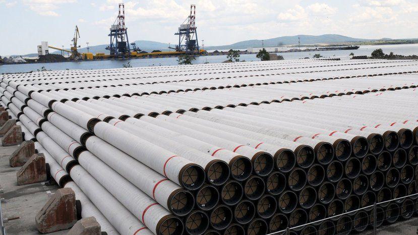 О новом газопроводе через Болгарию станет известно в Греции