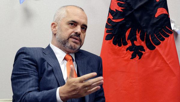 Эди Рама призвал признать независимость Косово