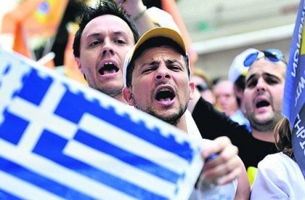 Греки готовятся к восстанию