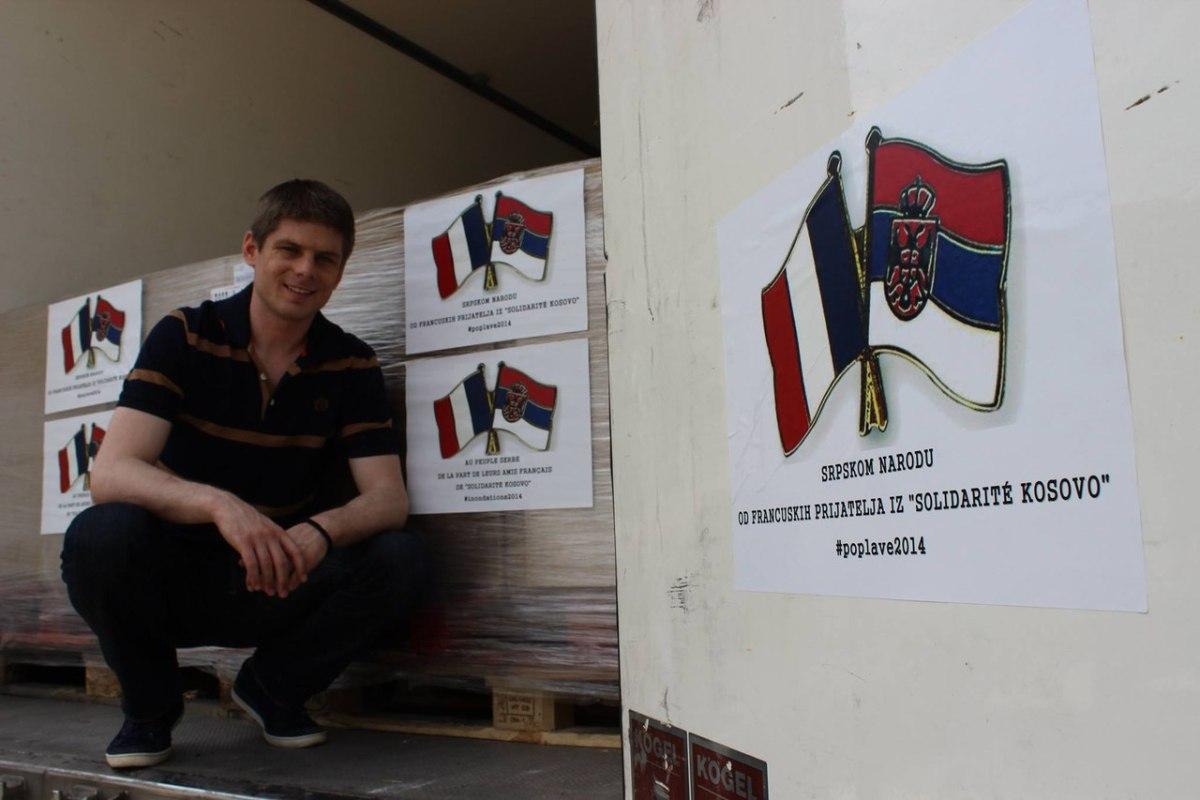Арно Гуйон - француз, который помогает косовским сербам