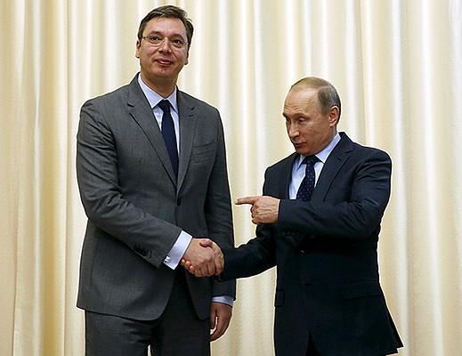 Путин предложил президенту Сербии купить «Панцирь»
