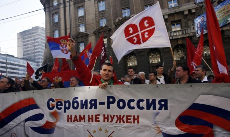 Тайные мировые правители пытаются оторвать Сербию от России