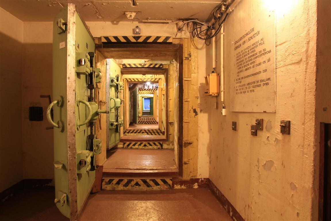 NVA-Nachrichtenbunker in Kunersdorf zur Besichtigung offen