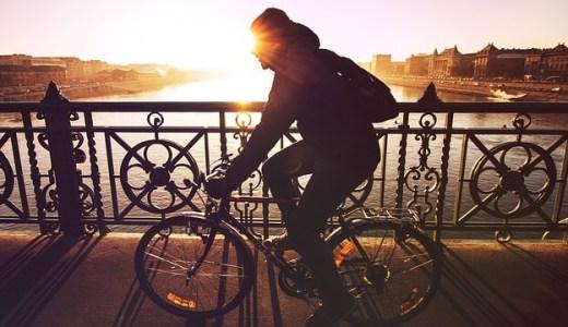 運動不足解消、自転車通勤3年目!片道8km、約40分のクロスバイク通勤で思ったこと!