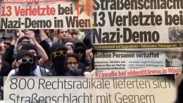 """Vermummte greifen """"Identitären-Demo"""" an, die Medien verdrehen aber die Tatsachen"""