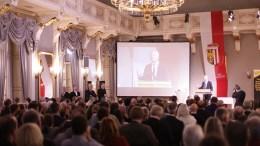"Teilnehmer des Kongresses ""Verteidiger Europas"""