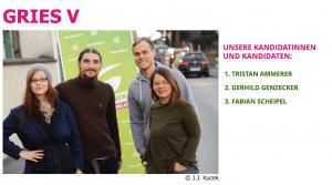Screenshot: Homepage der Grazer Grünen, http://www.graz.gruene.at/gries