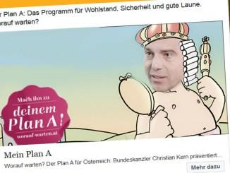 Bundeskanzler Kerns Gute-Laune-Plan