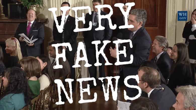 Mainstream-Medien als Very Fake News...