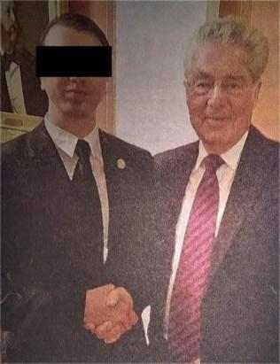Harald Hitler und Heinz Fischer