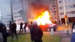 Unruhen in Paris