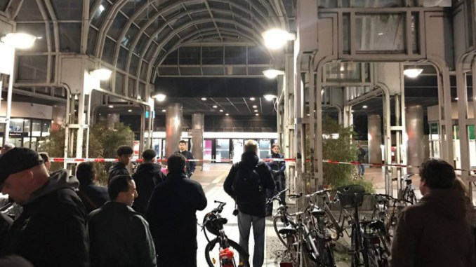 Düsseldorf Hauptbahnhof Anschlag