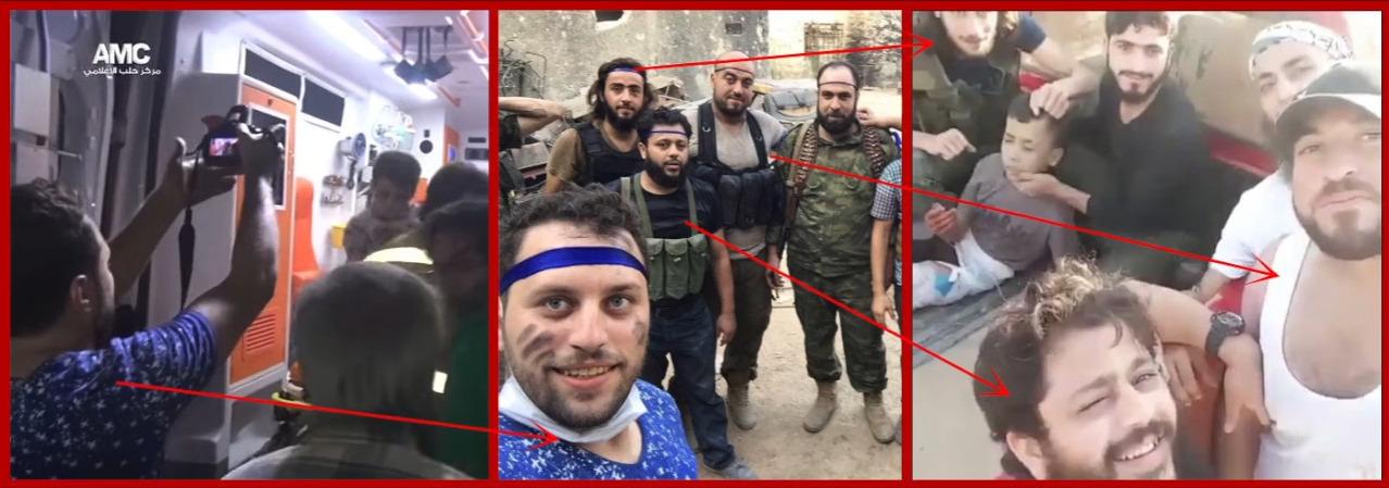 """Der """"Aktivist"""" aus Aleppo - bestens befreundet mit den Mördern aus der islamistischen Al-Nusra Front."""