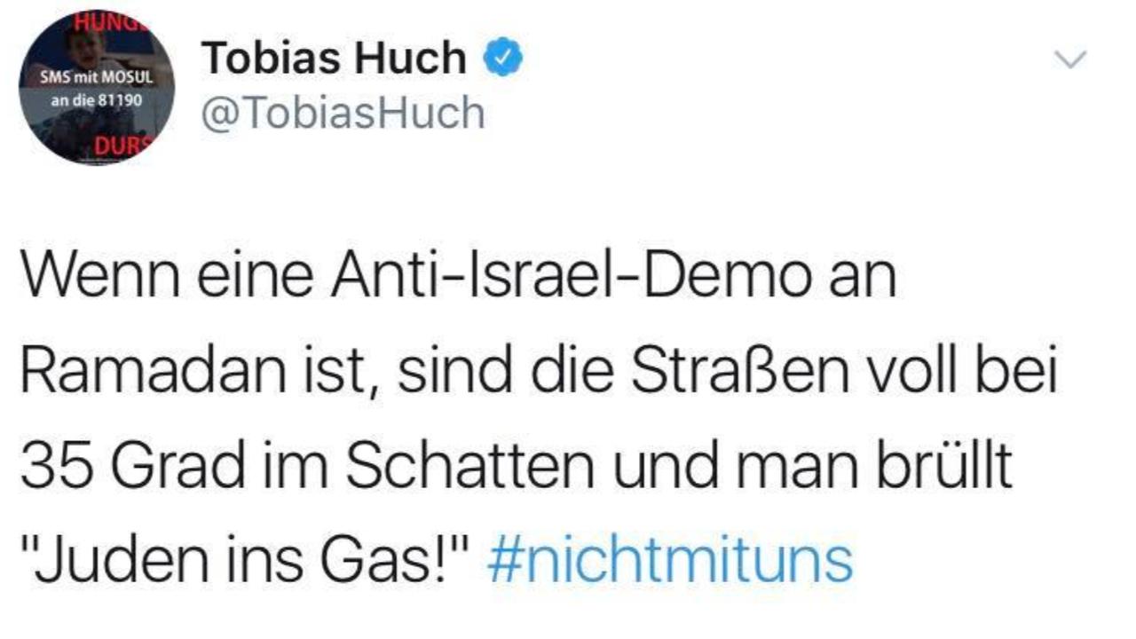 Tobias huch twitter
