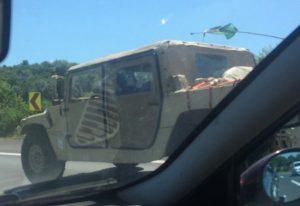 Truppentransport der US-Armee durch Österreich
