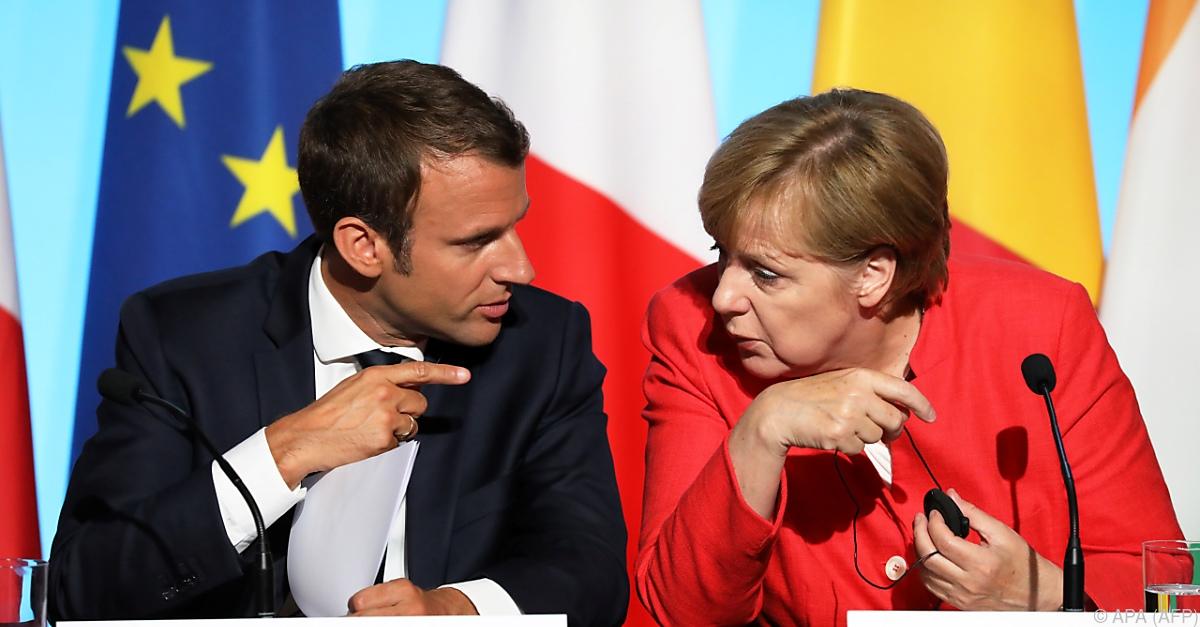 EU-Gipfel: Macron fordert eine weitreichende Reform